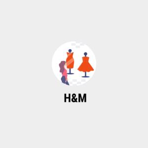 парсинг товаров магазин одежды H&M