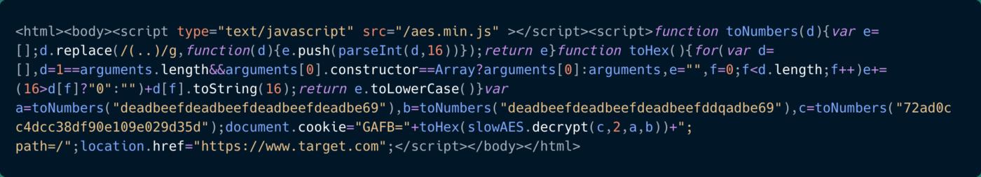 JavaScript-код для разблокирования веб-страницы