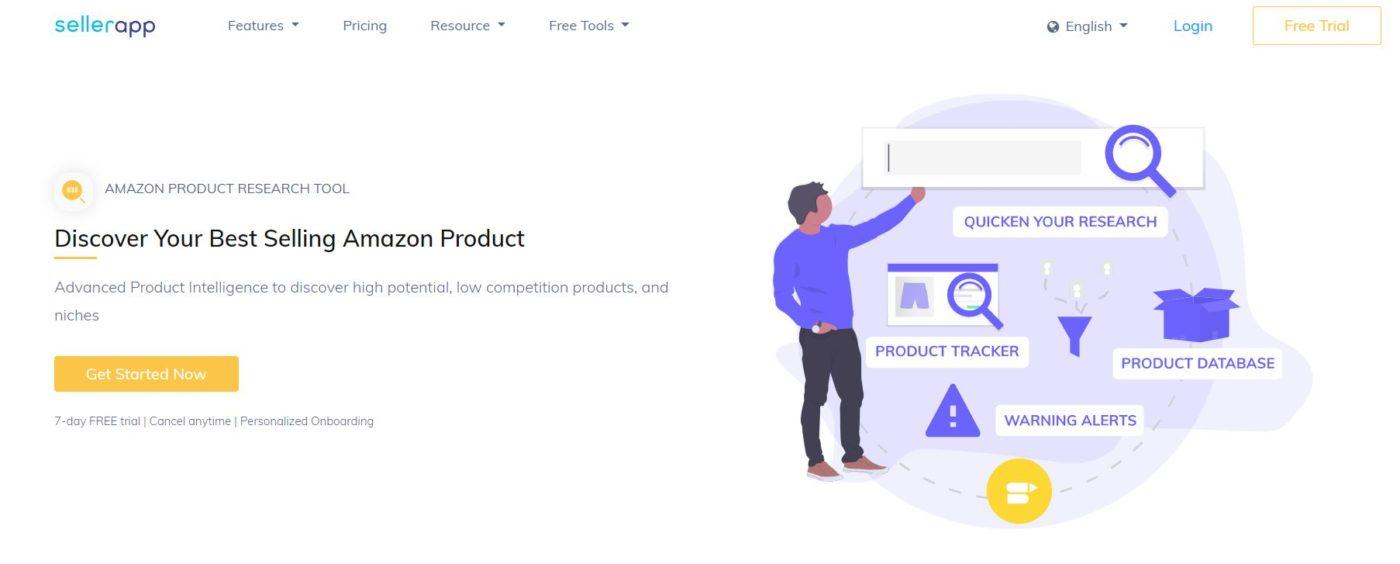 веб-сайт Seller App