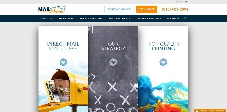 сайт MailShark