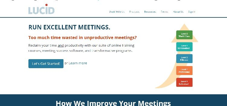 сайт Lucid Meetings